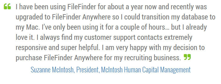 McIntosh Human Capital Management FileFinder Testimonial