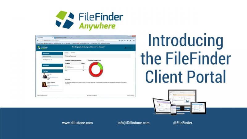 Introducing the FileFinder Client Portal