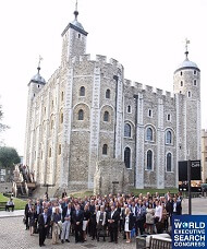 The 2016 Worlds Executive Search Congress at the Tower of London