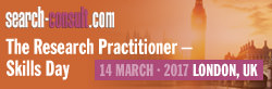 The 2017 Research Practitioner - Skills Day - London, 14 March