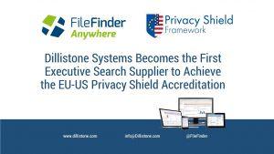Dillistone Systems holds the US EU privacy shield