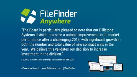 Significant growth for Dillistone Systems in 2016