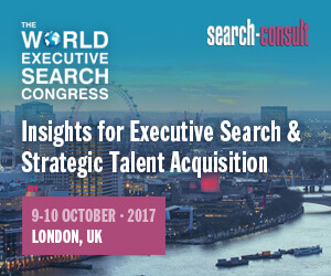 The 2017 World Executive Search Congress - October 9-10, 2017 - London, UK