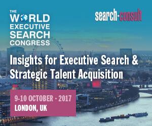 The 2017 World Executive Search Congress - October 9-10, 2017 - London, UK