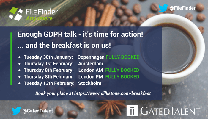 Attend one of our breakfast briefing