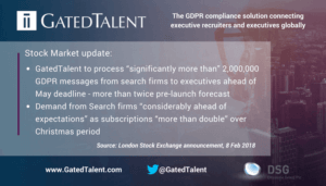 """GDPR: Executive Search firms to send """"Significantly more than 2,000,000 privacy notes"""""""